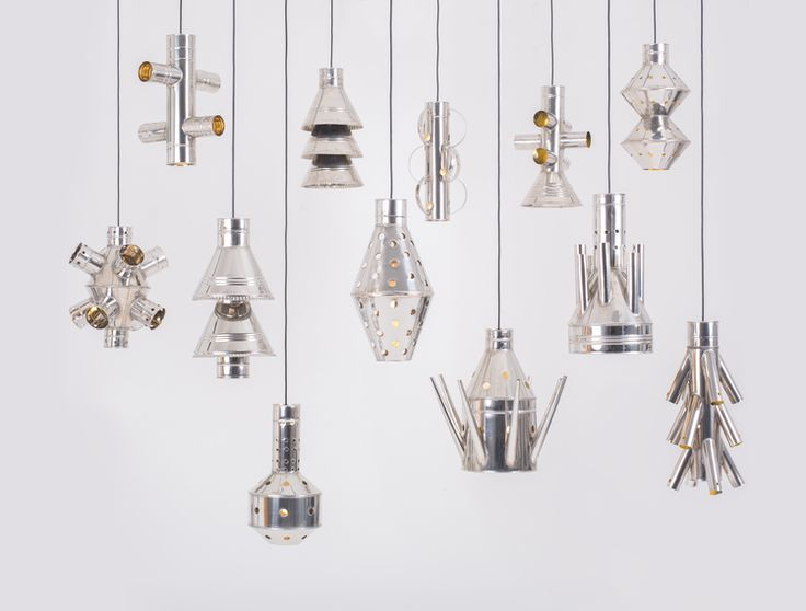 4decimi is a collection of twelve pendant steel lamps, inspired by the sculptural simplicity of metal containers and traditional tools of western Sicily. Each light fitting is hand-cut, curved, bent and welded by eighty-six years old craftsman Nino Ciminna in the oldest workshop of via Calderai | by designer Vittorio Venezia #madeinsicily