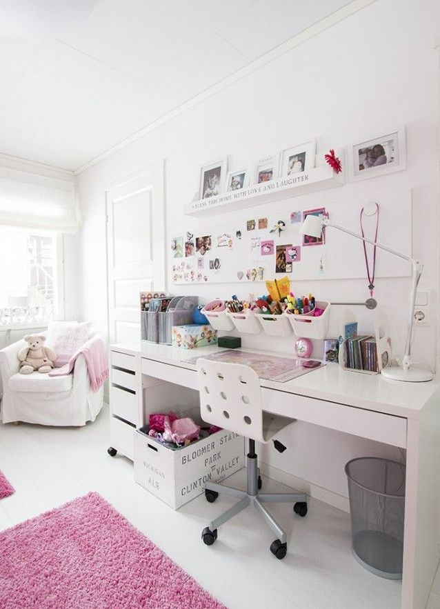 Homework station in Finleys room  Project New House  Room Decor Bedroom decor Bedroom