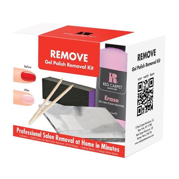 Το Removal Kit περιέχει μία ολοκληρωμένη σειρά με τα απαραίτητα αναλώσιμα προϊόντα για την αφαίρεση του ημιμόνιμου βερνικιού, εύκολα, γρήγορα και χωρίς κανέναν κίνδυνο για τα νύχια.    Τιμή 13,00€