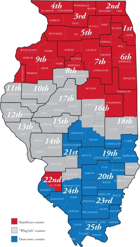 Us Senate District Map Globalinterco - Us senate red blue map