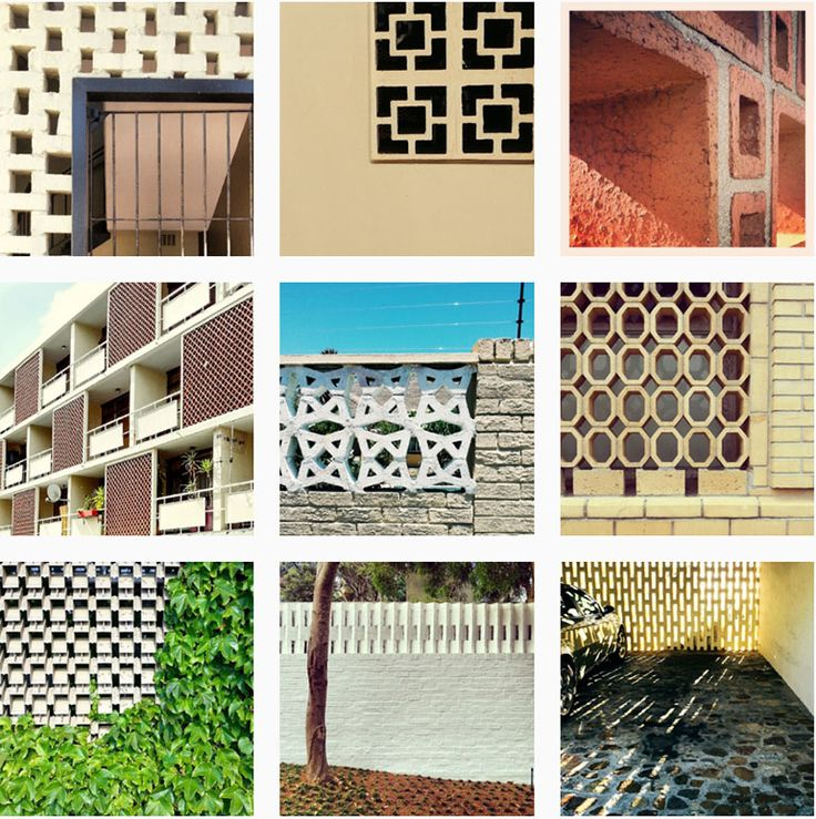 Instagram Photos Of Breeze Brick Brise Soleil Screens By Heather Moore.  #BriseSoleilSA