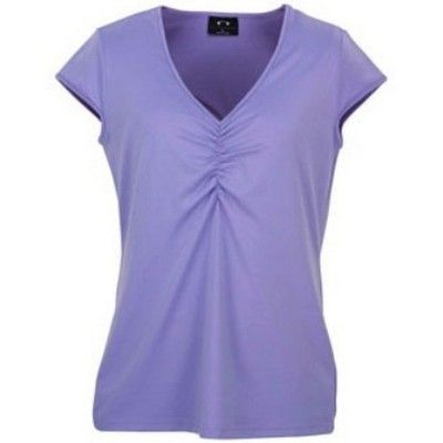 Silky S/S Ladies Top Min 25 - Clothing - Promotional T-Shirts - Her Tee Shirts - BC-T34021 - Best Value Promotional items including Promotional Merchandise, Printed T shirts, Promotional Mugs, Promotional Clothing and Corporate Gifts from PROMOSXCHAGE - Melbourne, Sydney, Brisbane - Call 1800 PROMOS (776 667)
