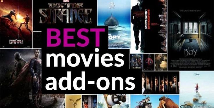 Best Kodi Add-ons for Movies, Still Working in 2017