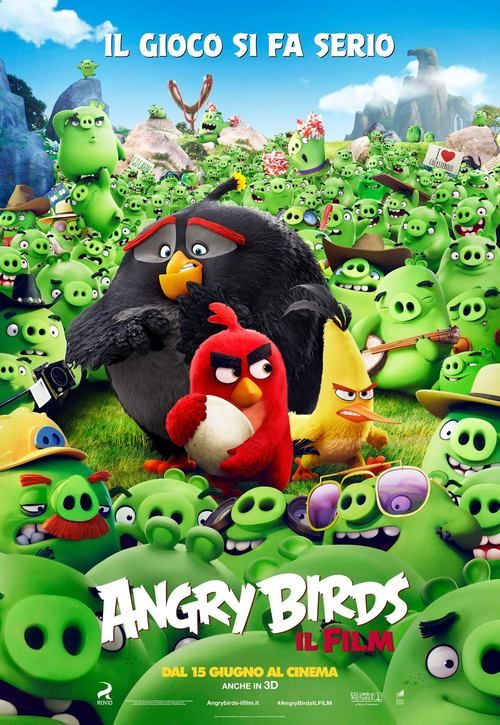 The Angry Birds Movie Full Movie Online 2016