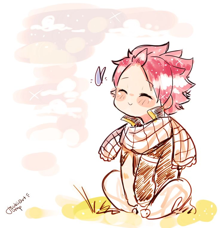 """tsukiartdump: """" i haven't drawn natsu in ages! i really miss FT!! """""""