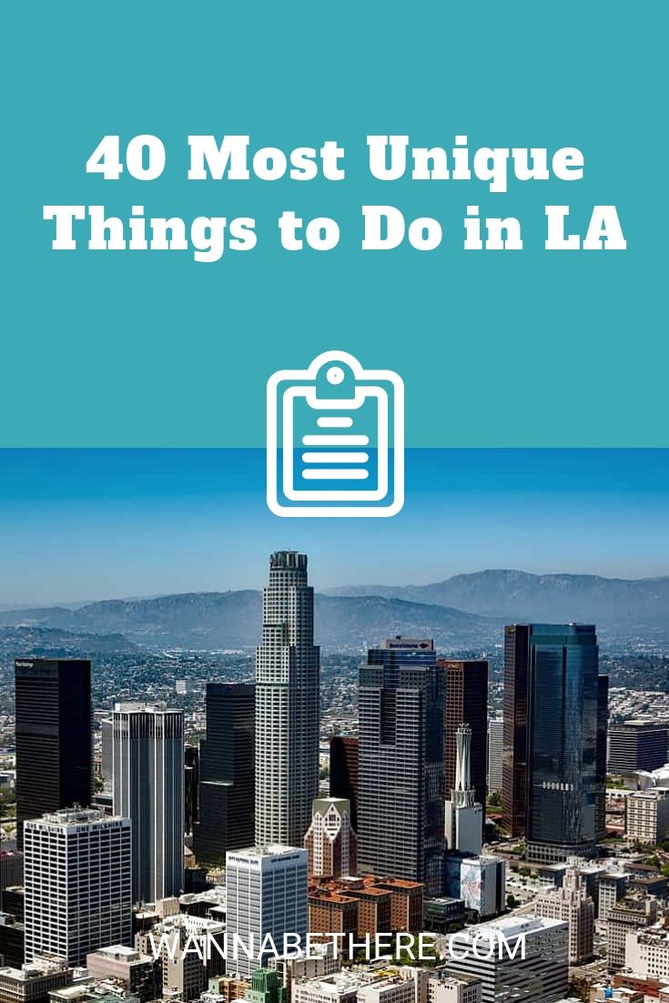 40 Fun Unique Things To Do In La With Friends Family Or As A Couple Los Angeles Travel California Travel Road Trips Travel Inspiration Destinations