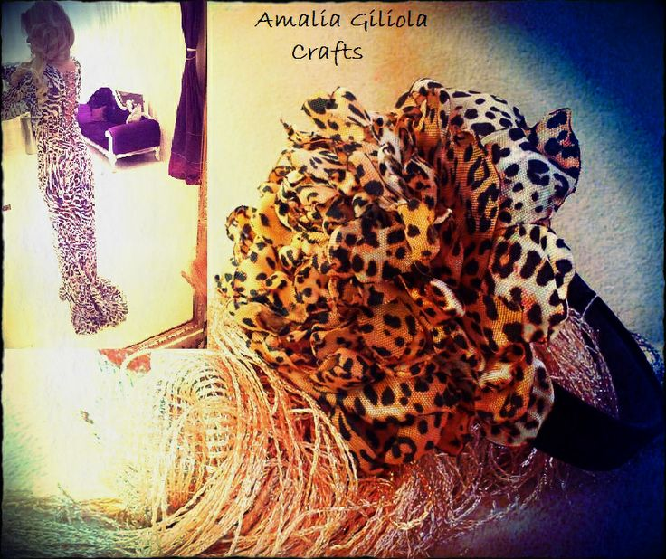 animal print haead band