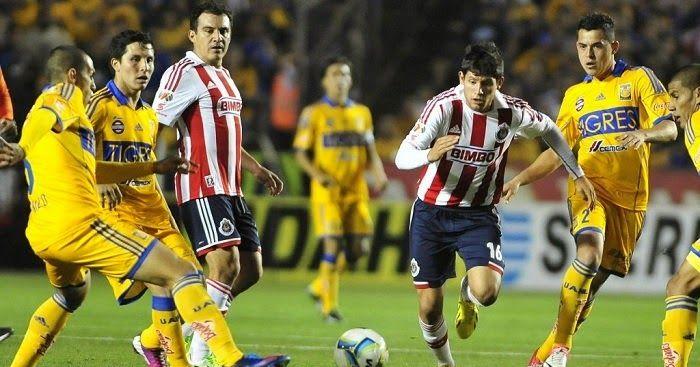 Tigres vs Chivas de Guadalajara en vivo -