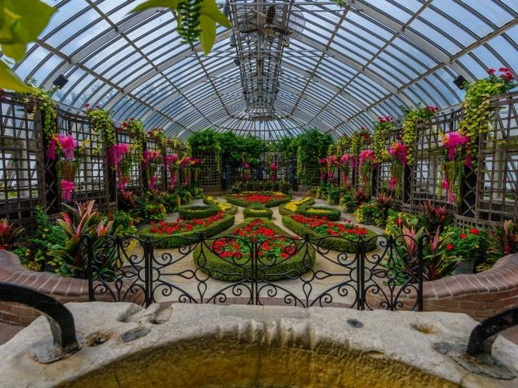 Pittsburgh Travel Guide Phipps conservatory, Botanical