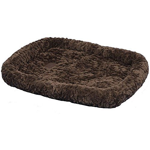 SnooZZy Chocolate Cozy Plush Portable Crate Bed 6000 (51 x 33) * New and awesome dog product awaits you, Read it now  : Dog kennels