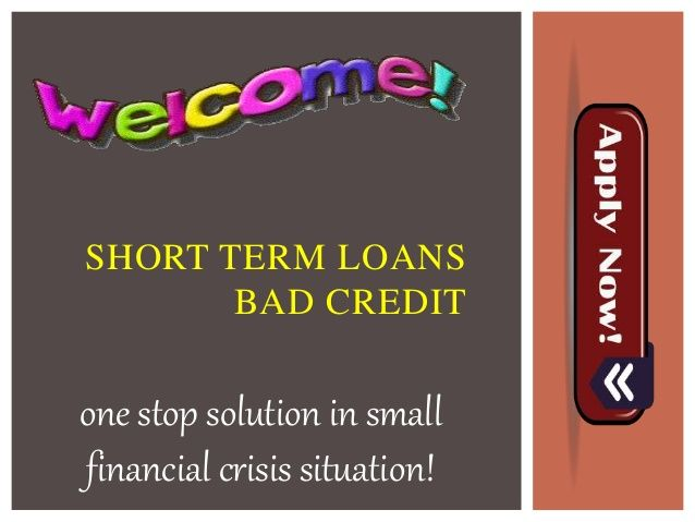 Short term loans bad credit is an incredible monetary aid made available for the salaried class people to help them access the small finances despite having bad credit issues. Without facing any credit checking and faxing troubles, you can opt an amount up to $1000 for short interval. Apply today and get these finances against viable terms and rates. www.shorttermloansbadcredit.us