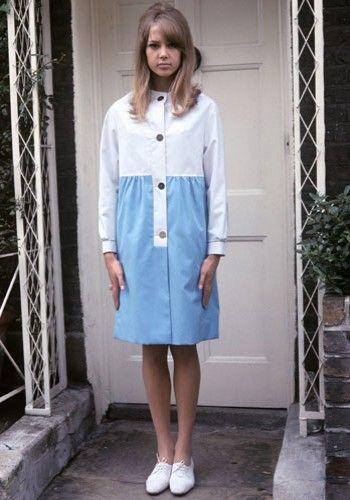 Pattie Boyd. Com seu cabelo comprido e pernas longas, Pattie é uma dessas que simbolizam a essência da beleza dos anos 60 e era uma das favoritas de Mary Quant.