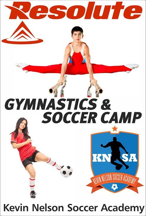 Resolute Gymnastics Center and Kevin Nelson Soccer Academy are offering mixed Gymnastics and Soccer Full Day Camps for boys and girls ages 5 and up (children must be 5 full years). Campers are grouped by age and/or skill ability. Each day of camp has at least two hours fo soccer practice and two hours of gymnastics training. It offers exciting gymnastics rotations including all Olympic events as well as trampoline tumble track rope climbing and access to foam pits. Every day campers will…