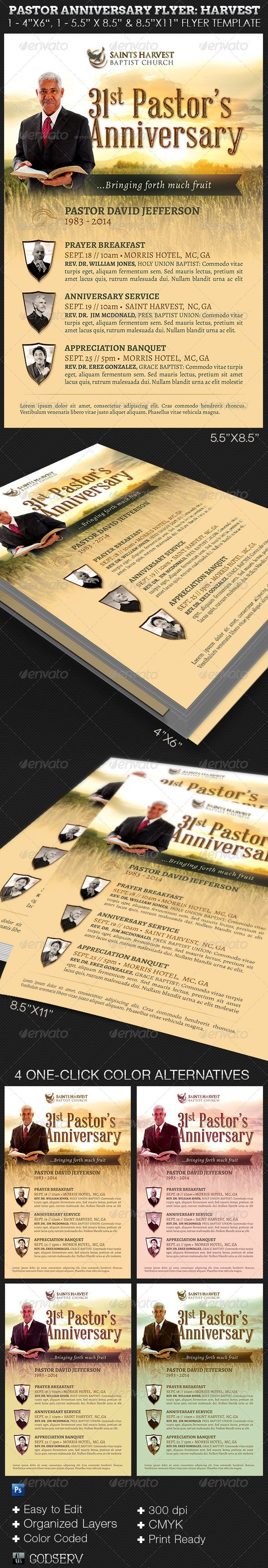 best images about church print samples program pastor anniversary church flyer template harvest 6 00 the pastor anniversary events flyer harvest