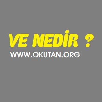 ve nedir Türk alfabesinin yirmi yedinci harfinin adı, okunuşu. İki kelime veya iki cümle arasına girerek aralarında bir bağ olduğunu anlatan söze ve denir.