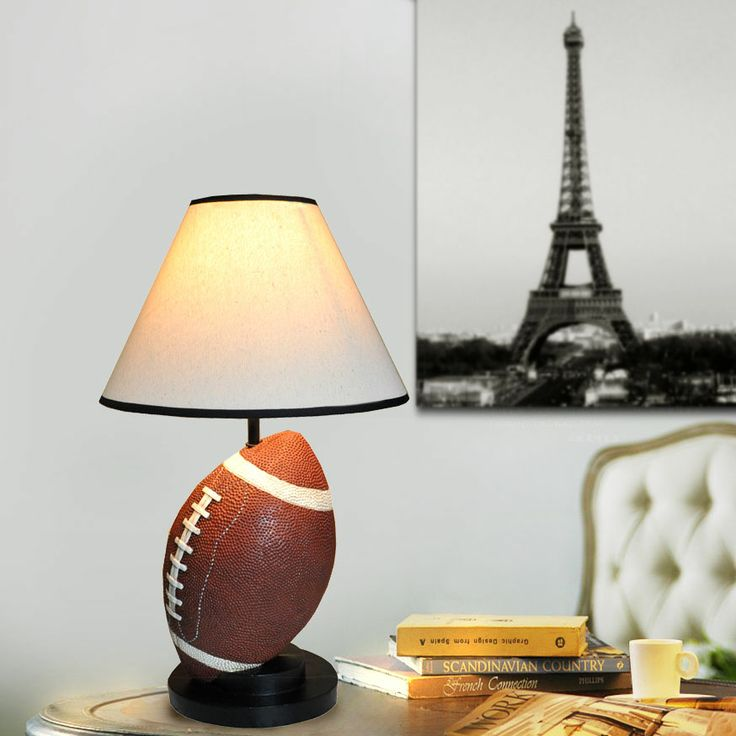 rugby - lamp / lampe sports themed decoration & home Pinterest