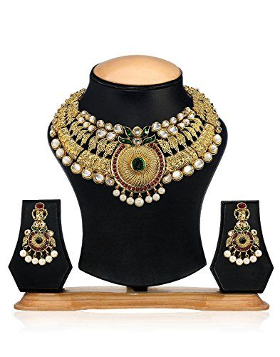 Elegant Indian Bollywood Golden Plated Red & Green Stone ... https://www.amazon.com/dp/B01N6RV69I/ref=cm_sw_r_pi_dp_x_dCDHybYGFWJZG