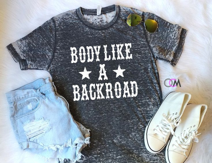 Body Like a Backroad Shirt, Country Music Shirt, Sam Hunt Lyrics Shirt, Concert Shirt by 1OneCraftyMomma on Etsy
