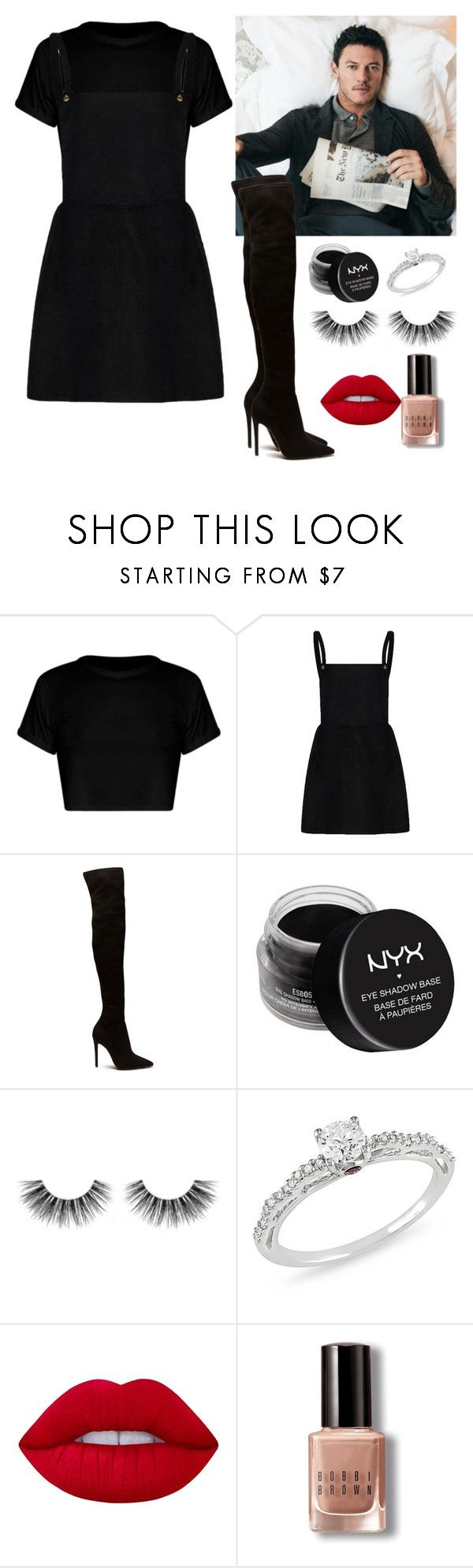 """Como olvidar tu piel?"" by arianabut1993 on Polyvore featuring moda, NYX, Velour Lashes, Ice, Lime Crime y Bobbi Brown Cosmetics"