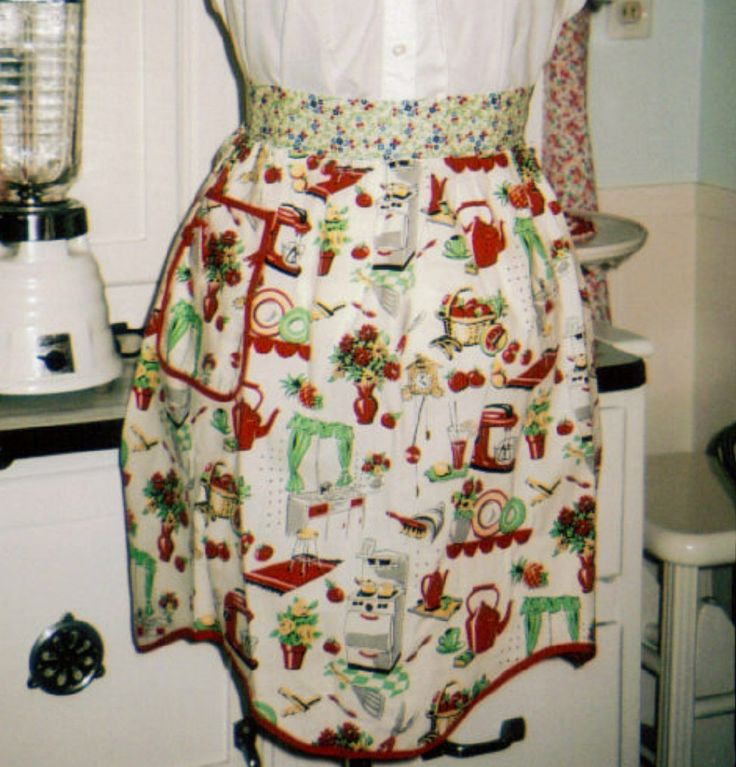 Retro Kitchen Aprons: 21 Best Images About Aprons On Pinterest