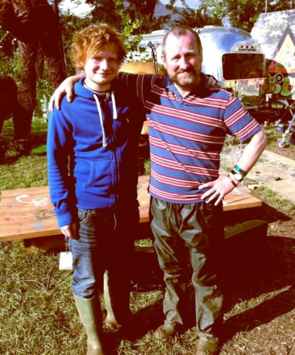Photo of Ed Sheeran & his Father John Sheeran