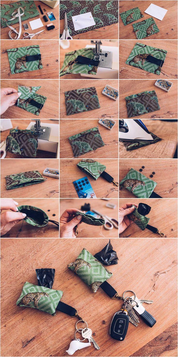 Hunde-DIY: Kotbeutelspender für den Schlüsselanhänger selber machen! – Danibert