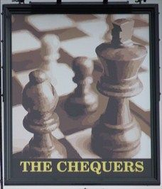 Chequers - Queen Street, Stotfold, Bedfordshire, UK. - Looks more like chess to me?