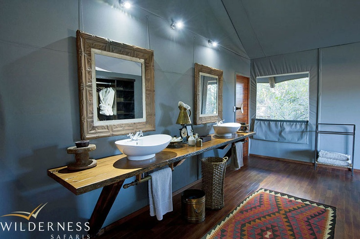 Chitabe Lediba - the camp was recently redone and sports a number of sustainable upgrades such as LED lights. #Safari #Africa #Botswana #WildernessSafaris