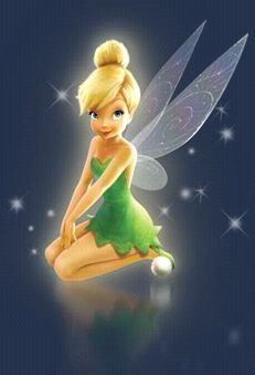pose  Tinker Bell