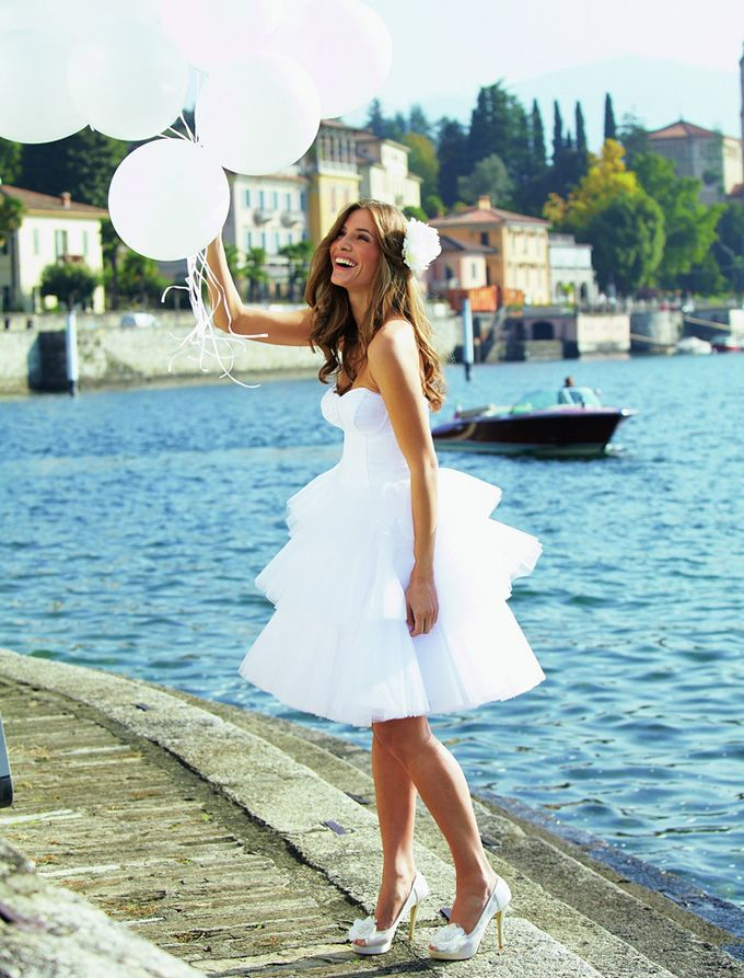 76 best Beach Wedding Dresses images on Pinterest | Short wedding ...