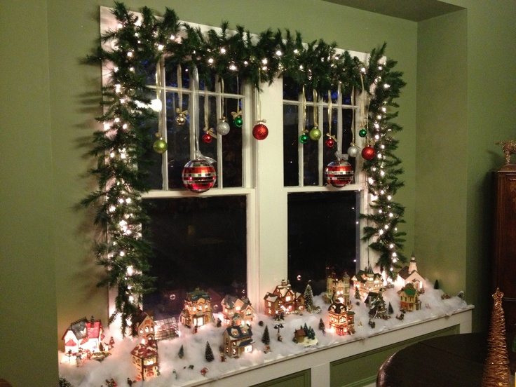 Window treatment for the holidays