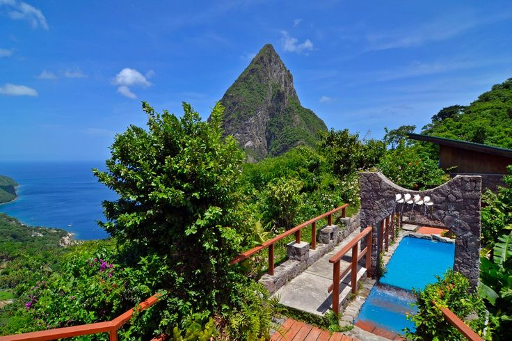Five Fabulous Hotels in St. Lucia via Condé Nast Traveller  #StLucia #Caribbean #Vacation