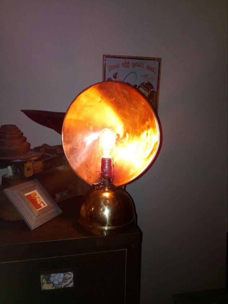 Paraffin heater lamp
