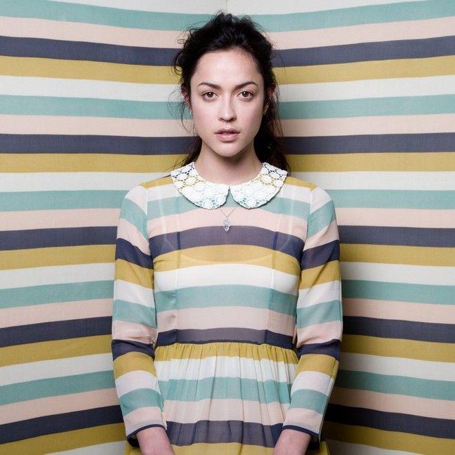 Lovely stripey dress by Twenty-seven Names (via Miss Moss)
