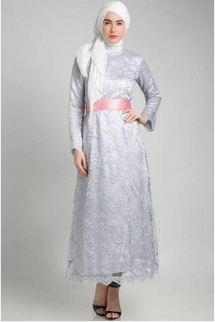 Model Dress Brokat Modern