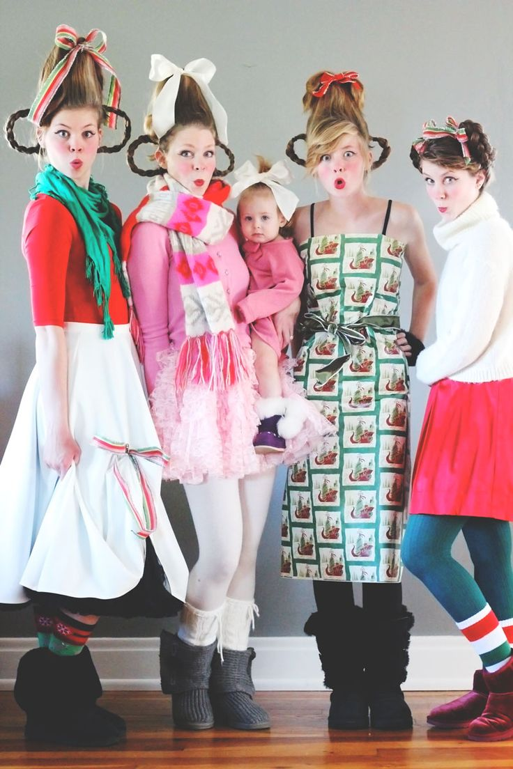 3 ways for DIY Who costumes from How the Grinch Stole Christmas!