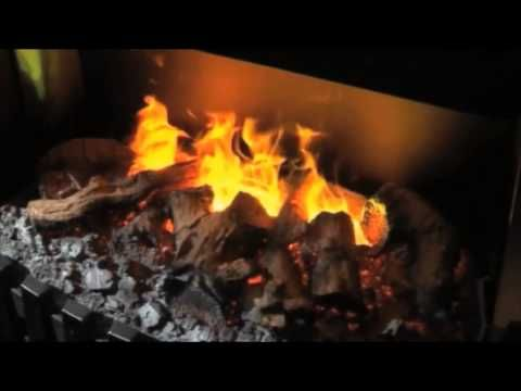 Optimyst -- The amazing new 3D electric flame effect from Dimplex - YouTube