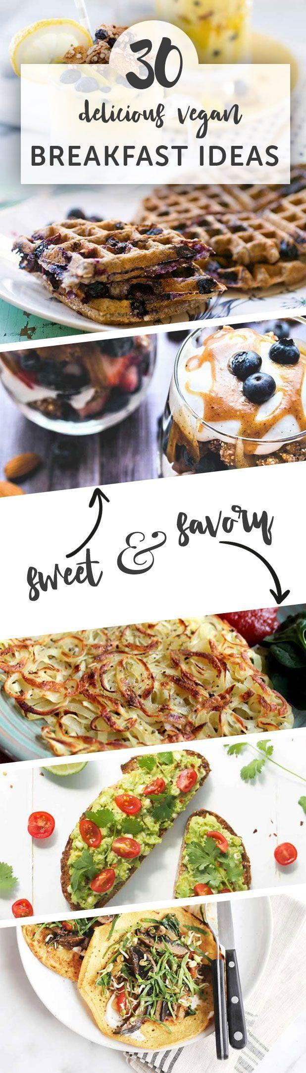 30 Delicious Vegan Breakfast Recipes