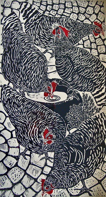 Josephine Broekhuizen, Maran Chickens