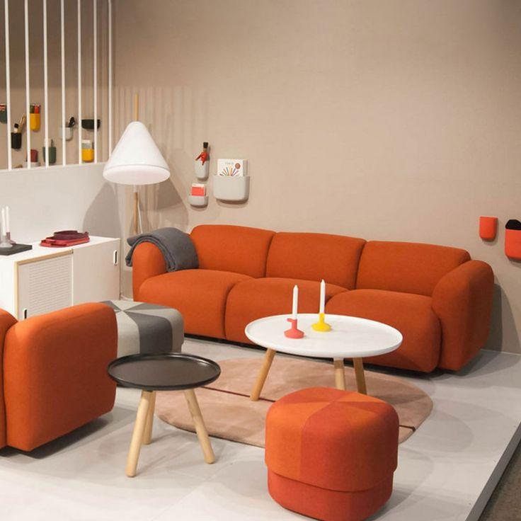 Swell sofa 3 seater by Normann Copenhagen | LOVEThESIGN