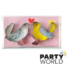 Love Birds Cookie Cutters (2pk)