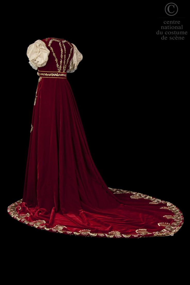 Costume designed by Patrice Chauchetier for Catherine Sauval in the 1996 production of Gerard de Nerval's Leo Burckart From the Centre National du Costume de Scene