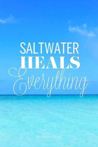 exactly what my daddy always says saltwater enjoy island life anna - Island Life