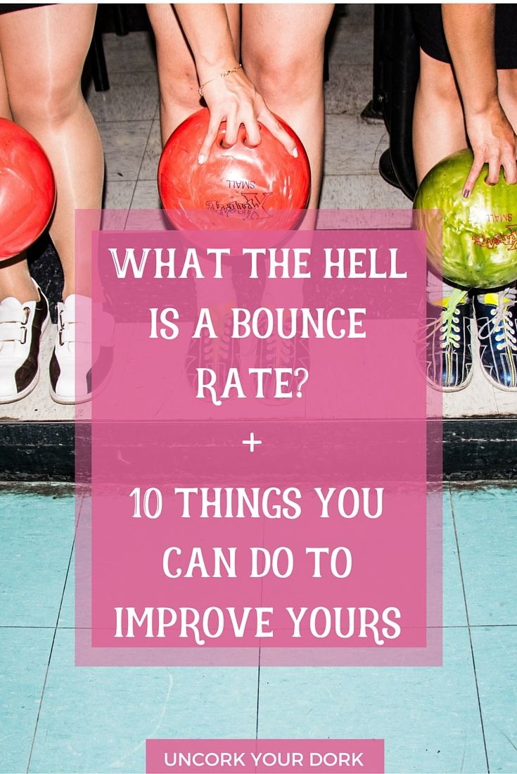 What is a bounce rate anyways?  Let me go a step farther and explain how to improve yours as well as how to get into your customer's psyche! Click the image to get started on lowering your bounce rates immediately!  via @girlymcnerdy