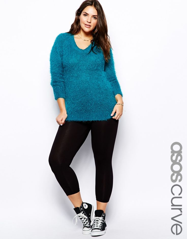 How To Wear Leggings When You Are Plus Size
