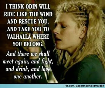 Lagertha's talk to Ragnar. #vikings #ragnar #lagertha  Vikings (Television Show) - Community - Google+