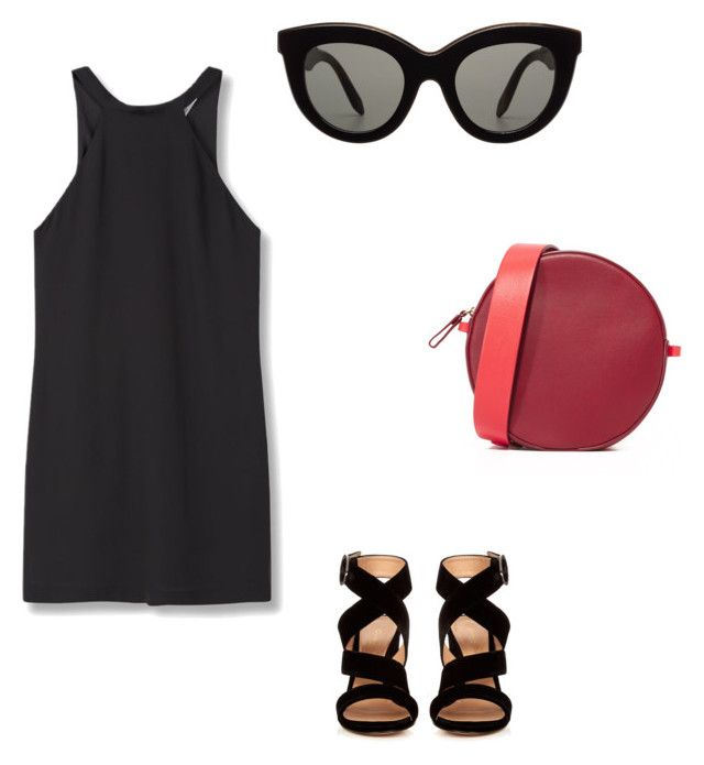 """Untitled #105"" by czirokpanna on Polyvore featuring Diane Von Furstenberg, Gianvito Rossi, Victoria Beckham and MANGO"