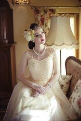 Daisy Dapper Collection Daisy Dress Light Peach Yellow -  Underbar klänning i tyll som är min sen några månader tillbaka :)
