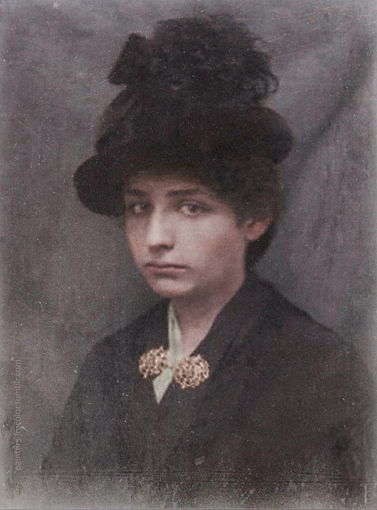 painters-in-color: Camille Claudel c.1889.