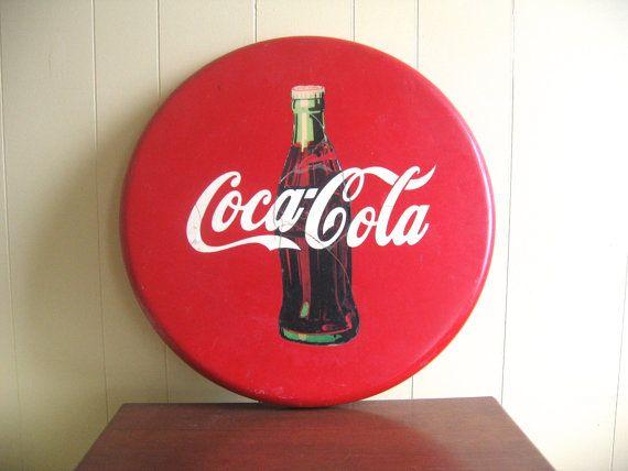 Rare Vintage Coca Cola Pub Table Top | Vintage Coca Cola, Coca Cola And Cola